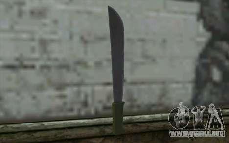 Machete (DayZ Standalone) v1 para GTA San Andreas segunda pantalla