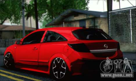 Opel Astra OPC para GTA San Andreas left