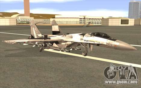 Sukhoi SU-35 BF3 para GTA San Andreas