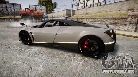 Pagani Huayra 2013 Carbon para GTA 4 left