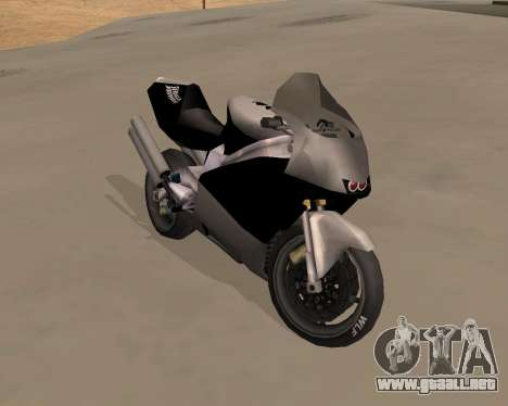NRG-500 Winged Edition V.1 para GTA San Andreas