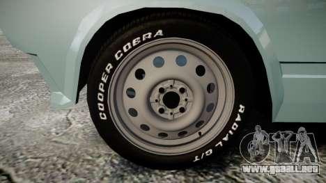 VAZ-2104 hooligan estilo de azerbaiyán para GTA 4 vista hacia atrás