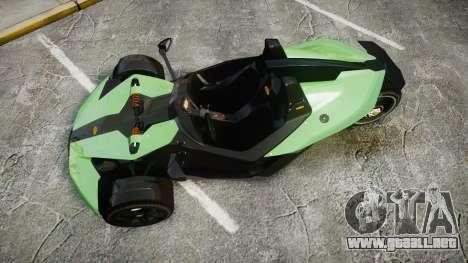 KTM Ducati para GTA 4 visión correcta