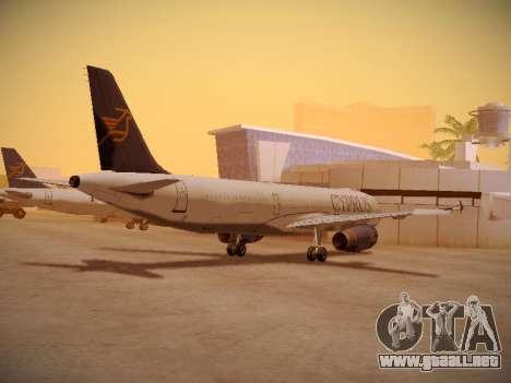 Airbus A321-232 Cyprus Airways para la visión correcta GTA San Andreas