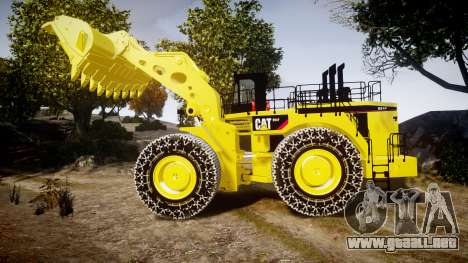 Caterpillar 994F para GTA 4 left