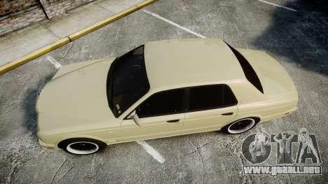 Bentley Arnage T 2005 Rims1 Black para GTA 4 visión correcta