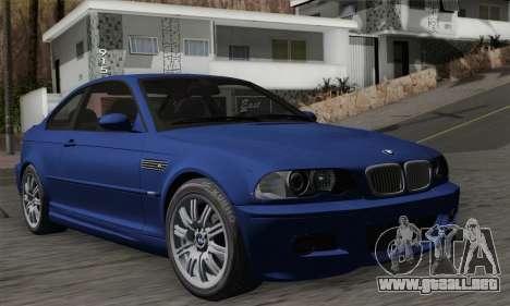 BMW E46 M3 para GTA San Andreas
