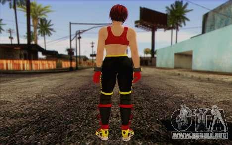 Mila 2Wave from Dead or Alive v8 para GTA San Andreas segunda pantalla