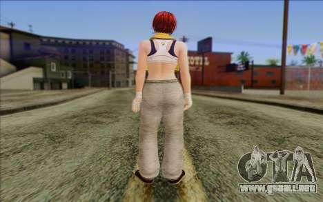 Mila 2Wave from Dead or Alive v17 para GTA San Andreas segunda pantalla