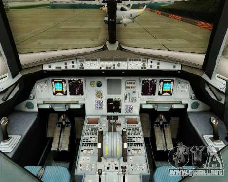 Airbus A320-200 Tigerair Australia para GTA San Andreas interior