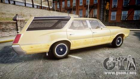 Oldsmobile Vista Cruiser 1972 Rims1 Tree5 para GTA 4 left