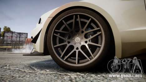 Ford Mustang GT 2014 Custom Kit PJ4 para GTA 4 vista hacia atrás