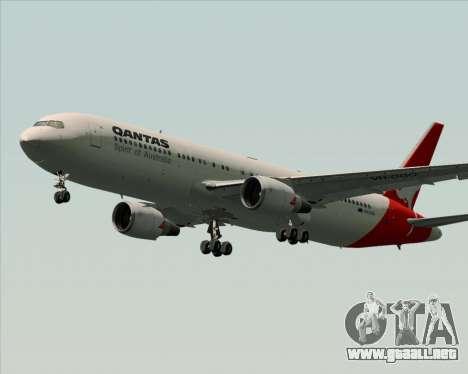 Boeing 767-300ER Qantas (Old Colors) para las ruedas de GTA San Andreas
