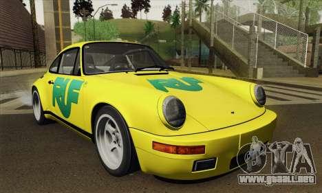 RUF CTR Yellowbird 1987 Tunable para la visión correcta GTA San Andreas