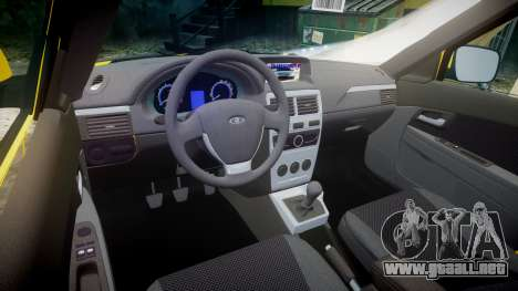 VAZ-2170 Priora v2.0 para GTA 4 vista interior