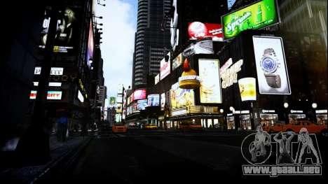 FaveENB para GTA 4 quinta pantalla