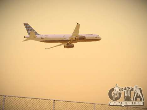 Airbus A321-232 jetBlue Airways para la visión correcta GTA San Andreas