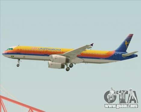 Airbus A321-200 Air Jamaica para el motor de GTA San Andreas