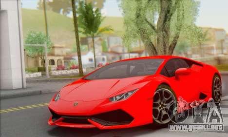 Lamborghini Huracan 2014 Type 2 para GTA San Andreas
