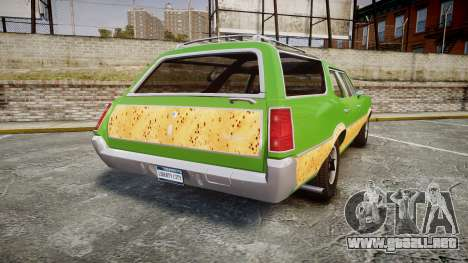Oldsmobile Vista Cruiser 1972 Rims2 Tree6 para GTA 4 Vista posterior izquierda