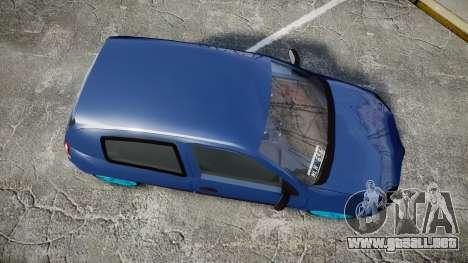 Renault Clio Mio 2014 para GTA 4 visión correcta