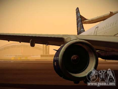 Airbus A321-232 jetBlue Whole Lotta Blue para las ruedas de GTA San Andreas