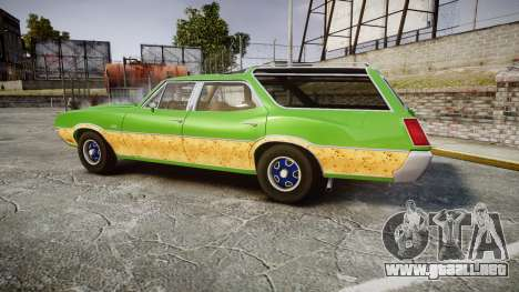 Oldsmobile Vista Cruiser 1972 Rims2 Tree6 para GTA 4 left