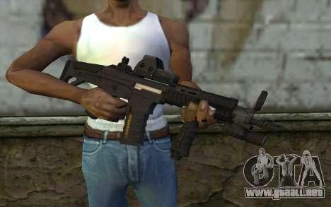 LK-05 v3 para GTA San Andreas tercera pantalla