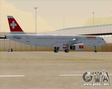Airbus A321-200 Swiss International Air Lines para GTA San Andreas