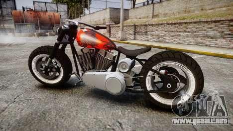 Steel Horse Zombie para GTA 4 left