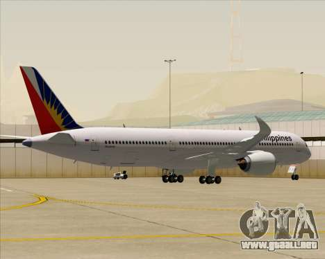 Airbus A350-900 Philippine Airlines para GTA San Andreas