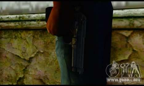 Beretta M9 para GTA San Andreas tercera pantalla