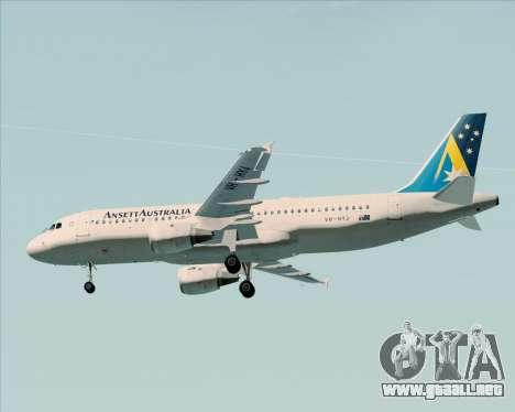 Airbus A320-200 Ansett Australia para el motor de GTA San Andreas
