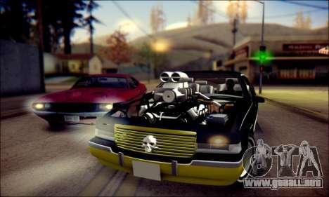 Cadillac Fleetwood 1993 Lowrider para GTA San Andreas left