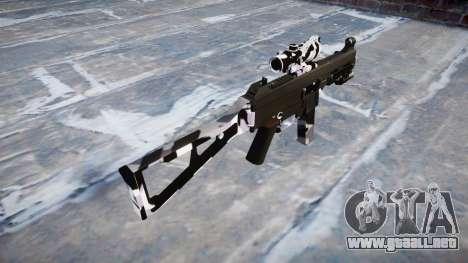 Pistola de UMP45 Siberia para GTA 4 segundos de pantalla