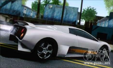 GTA 5 Infernus para GTA San Andreas left