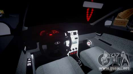VAZ-Priora 2172 Fijo para GTA 4 vista interior