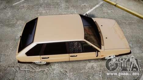 VAZ-2109 BRAZO para GTA 4 visión correcta