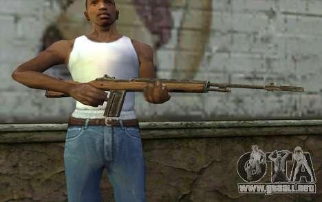 M14 from Battlefield: Vietnam para GTA San Andreas tercera pantalla