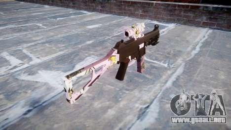 Pistola de UMP45 Kawaii para GTA 4 segundos de pantalla