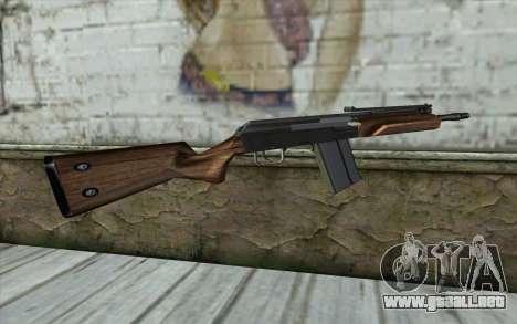 Saiga (Armas De Fuego) para GTA San Andreas segunda pantalla