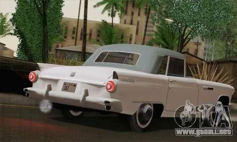 Smith Thunderbolt from Mafia 2 para GTA San Andreas vista posterior izquierda