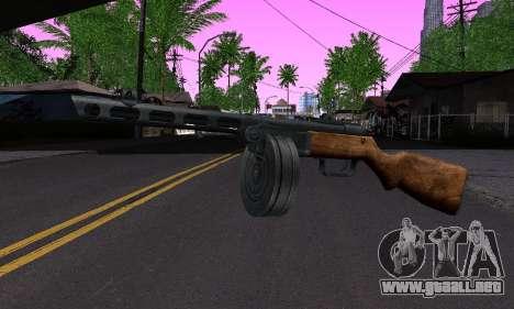 Pistola De Shpagina para GTA San Andreas
