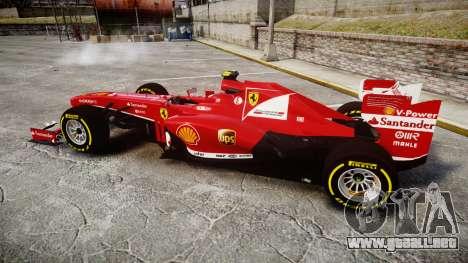 Ferrari F138 v2.0 [RIV] Massa TSD para GTA 4 left
