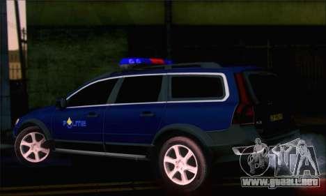 Volvo XC70 K9 Politie para GTA San Andreas left