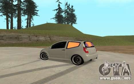 Citroen C2 para GTA San Andreas left