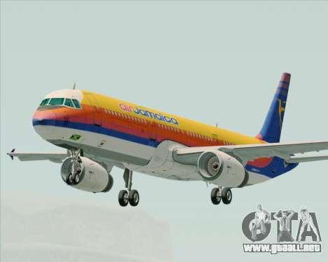 Airbus A321-200 Air Jamaica para GTA San Andreas