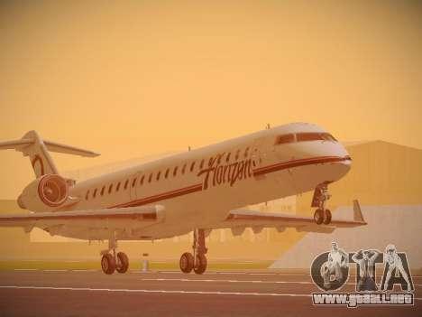 Bombardier CRJ-700 Horizon Air para GTA San Andreas left