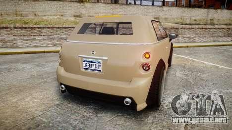 GTA V Weeny Issi Stock para GTA 4 Vista posterior izquierda