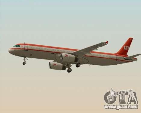 Airbus A321-200 LTU International para la visión correcta GTA San Andreas